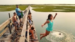 For decades, children have launched themselves into Mill Creek off of the planks of the Sandwich boardwalk.