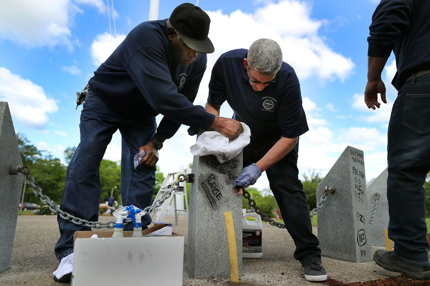 Veterans Official On Suspect Identified In Memorial Vandalism Pray For The Guy The Boston Globe