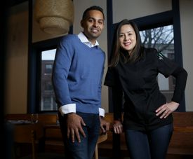 Anil Rayasam and Yuri Asawasittikit own Mae Asian Eatery.