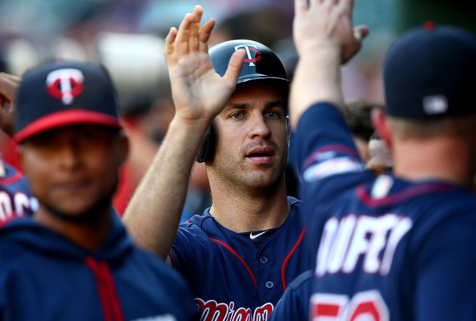 Joe Mauer had 37 extra base hits in 2016.