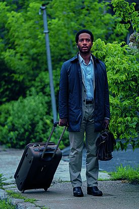 "Andre Holland in a scene from ""Castle Rock."""
