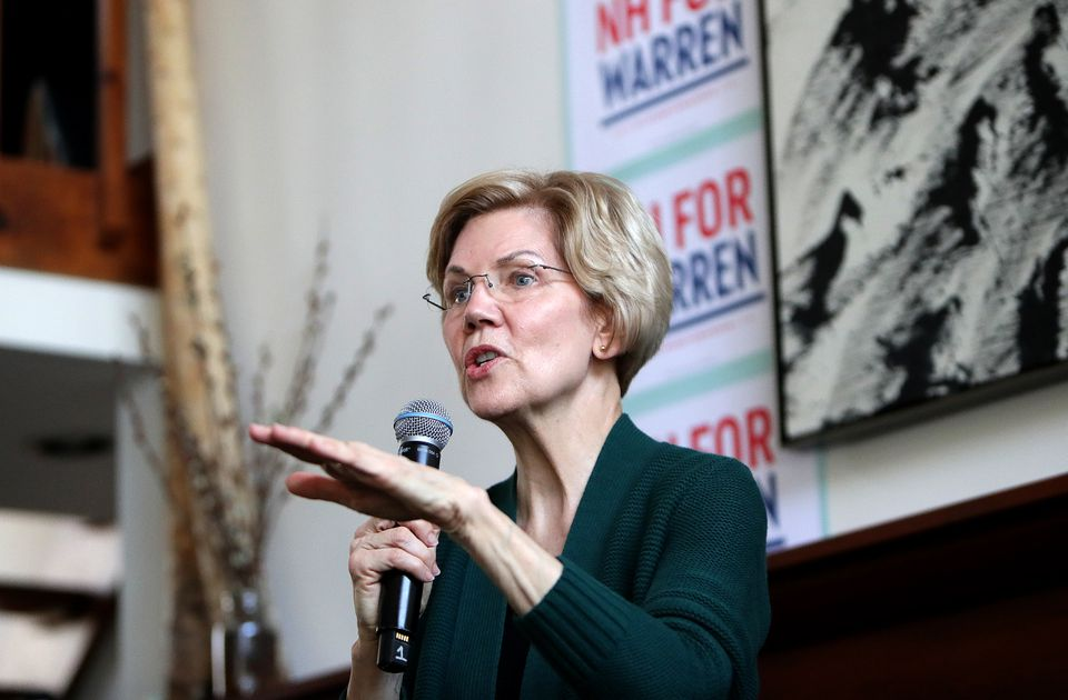 Senator Elizabeth Warren, Democrat of Massachusetts, spoke to supporters Friday in Salem, N.H. Warren is about to begin a swing through the Deep South.