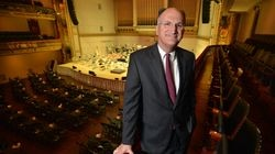 Mark Volpe, managing director of the Boston Symphony Orchestra, in Symphony Hall.
