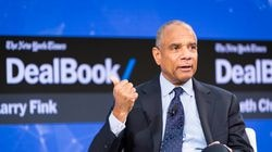 """Kenneth Chenault, former the CEO of American Express, speaks at a conference in New York in 2017. Amazon, BlackRock, Google, Warren Buffett and hundreds of other companies and executives signed on to a new statement released on Wednesday opposing """"any discriminatory legislation"""" that would make it harder for people to vote."""