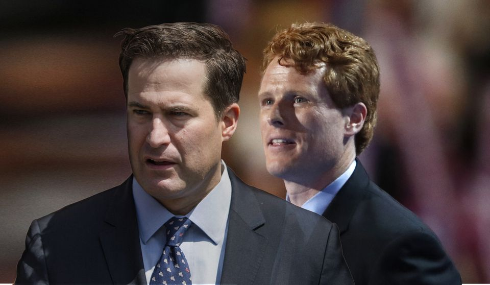 Seth Moulton and Joe Kennedy III.