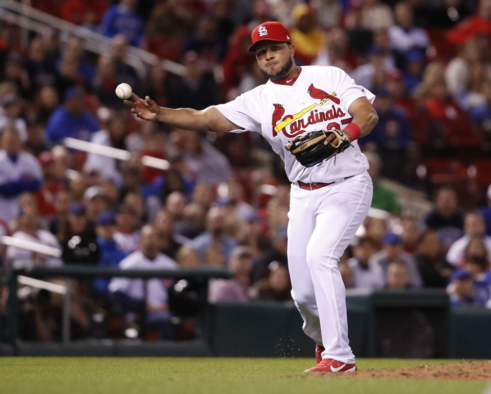Jhonny Peralta slashed .204/.259/.204 in 21 games for the Cardinals.
