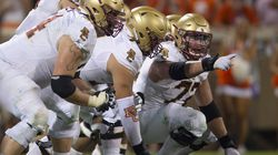 Center Alec Lindstrom and the Boston College offensive line have come together as a critical piece of the Eagles' 4-1 start to the 2021 season.