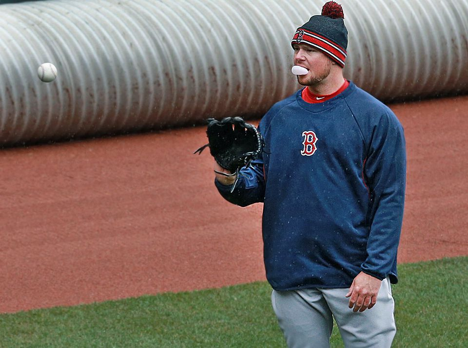 Red Sox ace Jon Lester is ready to face the Orioles Monday in the season opener.