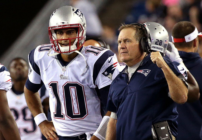 Jimmy Garoppolo trade was based on Patriots' future plans, Belichick says - The Boston Globe