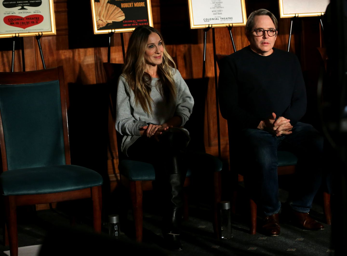 Illness Sidelines Sarah Jessica Parker For Friday Night S Plaza Suite The Boston Globe