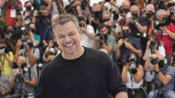 Matt Damon poses for photographers for the film 'Stillwater' at the 74th international film festival, Cannes, southern France.