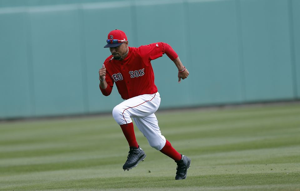 """""""I love it here. I'd love to be here,"""" said Mookie Betts. """"But ... you don't want to sell yourself short."""""""