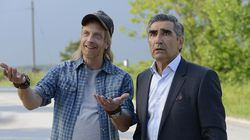 "Chris Elliott (left) and Eugene Levy star in ""Schitt's Creek."""