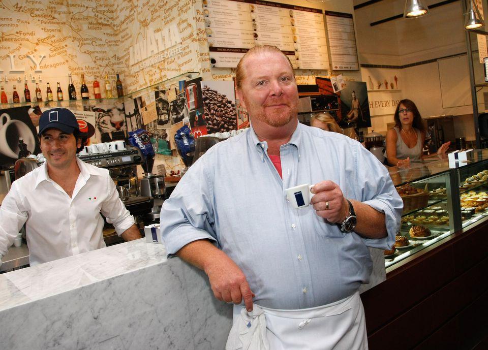 Chef Mario Batali in 2010.