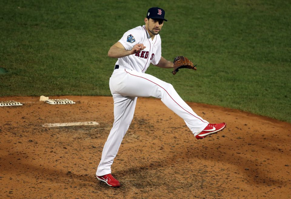 Nathan Eovaldi is 44-53 with a 4.16 ERA over seven seasons in the majors.