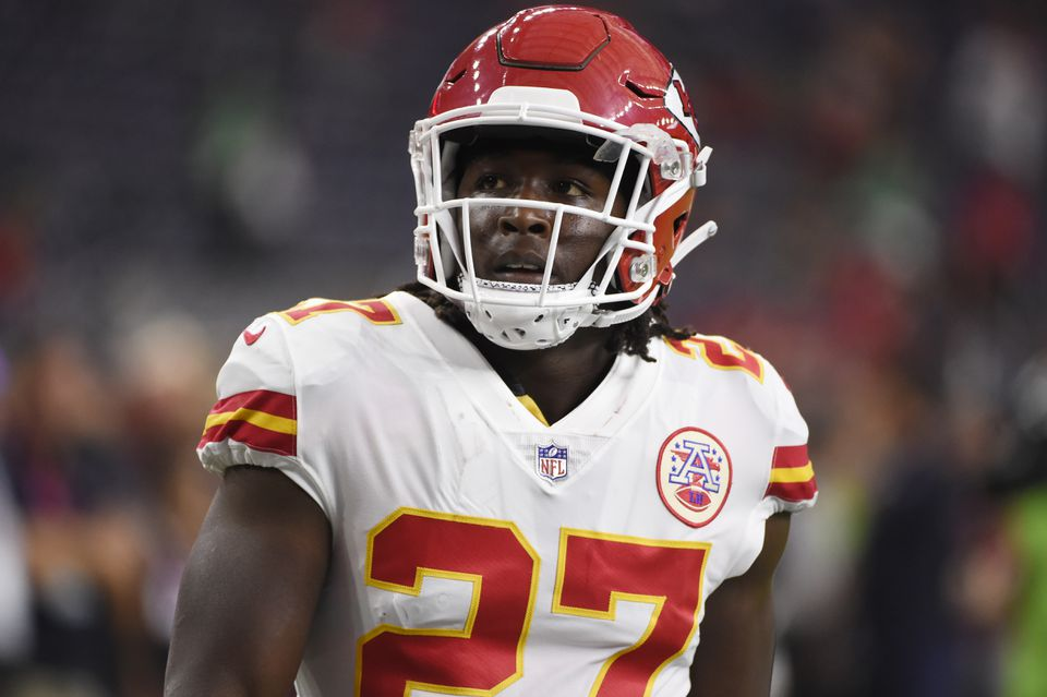 Kareem Hunt signed with the Browns Tuesday after being released by the Chiefs in November for a domestic violence incident.