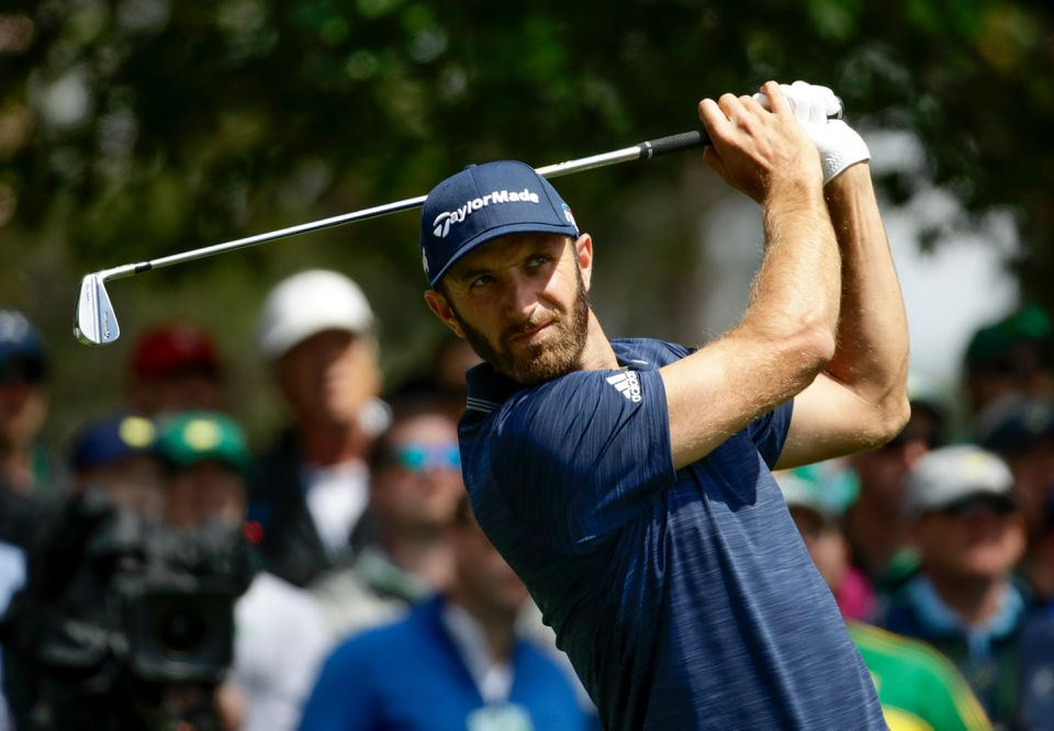 South Carolina's own Dustin Johnson shot 69 in the opening round.