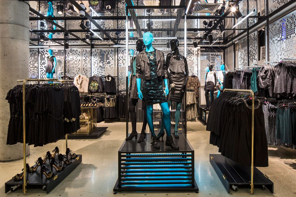 An interior shot of the Primark store in Dusseldorf, Germany.