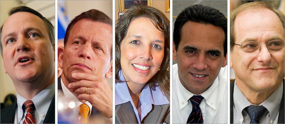 Lieutenant Governor TIm Murray, Treasurer Steve Grossman,  Mayor Kim Driscoll of Salem,  Mayor Joe Curtatone of Somerville, and Representative Mike Capuano could be among those vying to succeed Governor Deval Patrick.