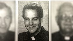 Father Christopher Cunningham in a picture taken shortly after he was ordained in 1990.