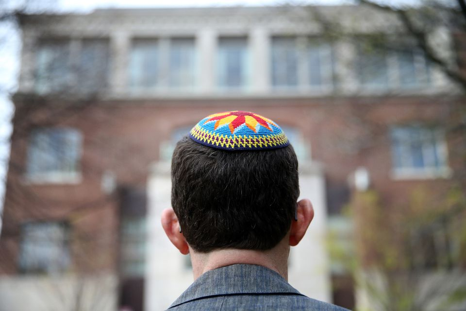As a college student, Jevin Eagle considered entering rabbinical school, but he deferred his calling.