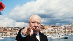 Alfred Hitchcock at the Cannes Film Festival in 1972.