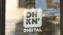 The Dunkin' Digital opened at 22 Beacon St. Tuesday.