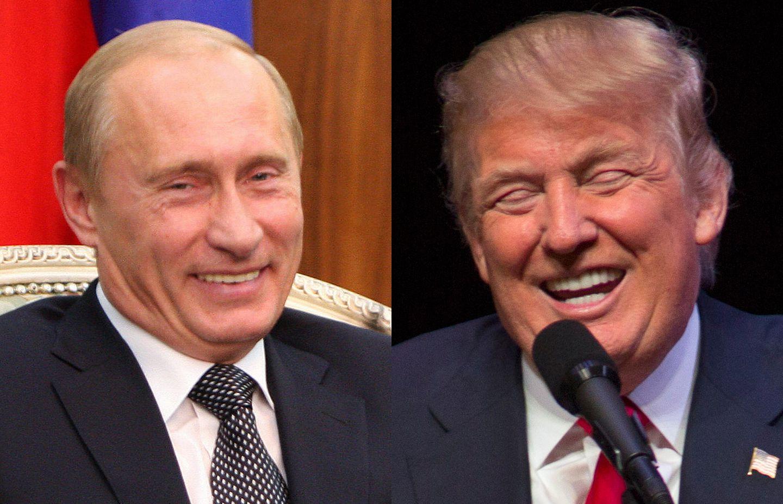 Donald Trump And Vladimir Putin Together The Boston Globe