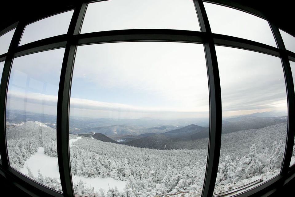 A view from Killington ski resort in Vermont.
