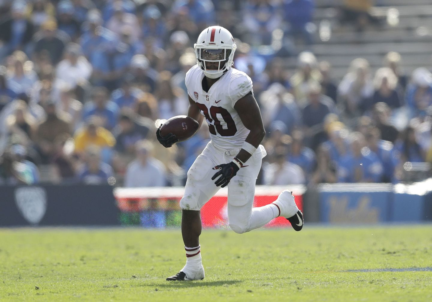 After Injury Prone Senior Year Stanford Rb Bryce Love May Be A Sleeper Pick The Boston Globe