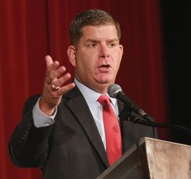 """""""It's going to be our first comprehensive school capital plan in 20 years,"""" Boston Mayor Martin J. Walsh said."""