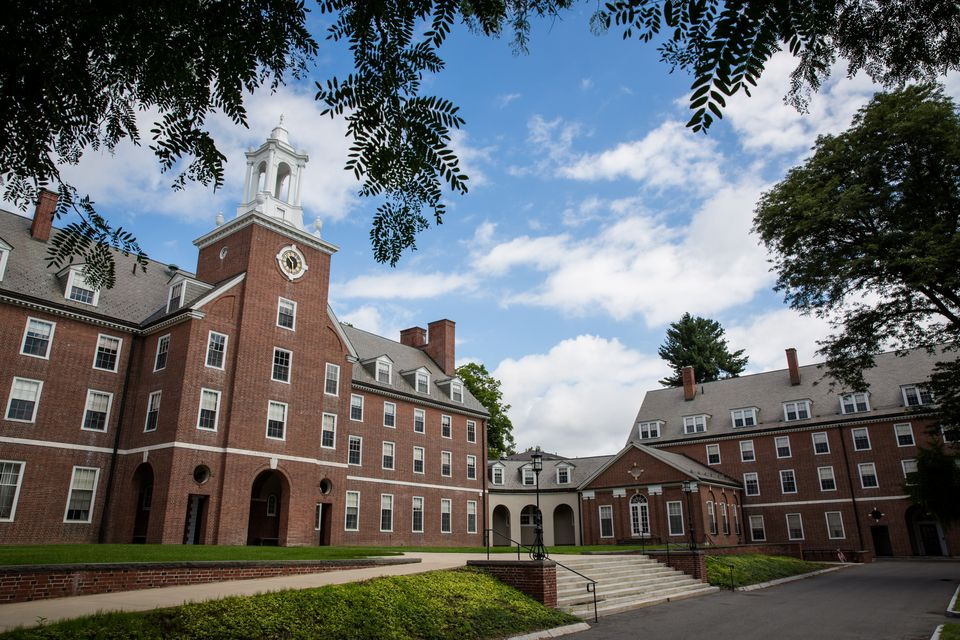 Smith College campus in Northampton, Mass.