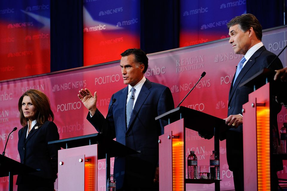 """The RNC chairman called the frequent 2012 presidential primary debates """"an embarrassment and ridiculous."""""""