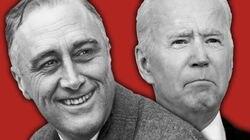 Franklin Delano Roosevelt and Joe Biden.