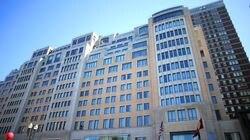 The Mandarin Oriental hotel on Boylston Street in the Back Bay