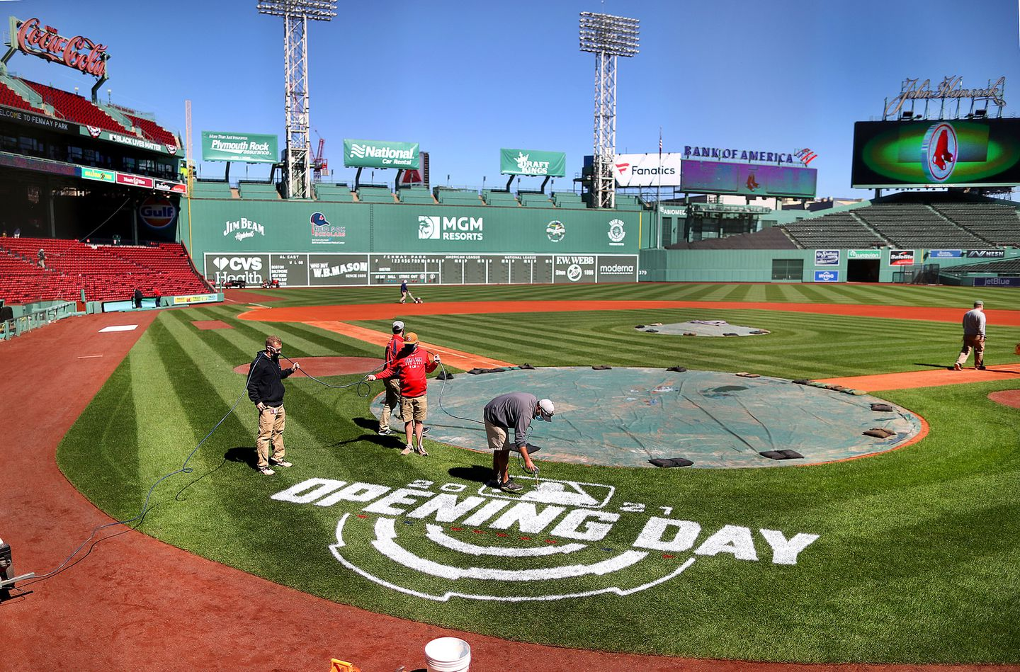 A Red Sox Opening Day that feels almost normal is cause to celebrate - The  Boston Globe