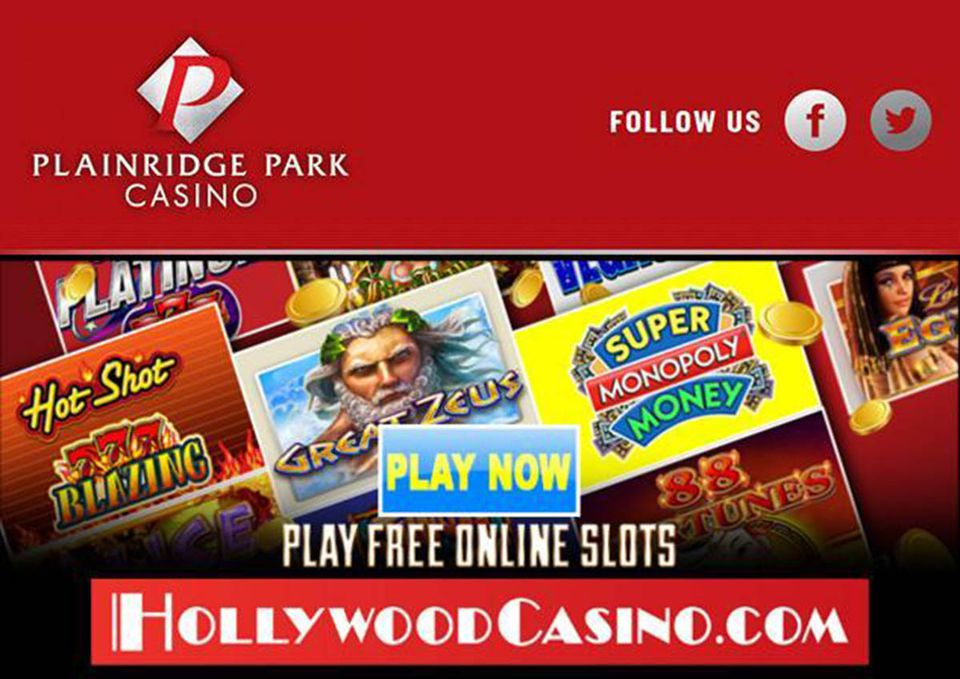 Players do not wager money in online games such as HollywoodCasino.com, the online game sponsored by Plainridge Park Casino in Plainville. But players can win credits that allow them to make the leaderboard and open up new levels of play.
