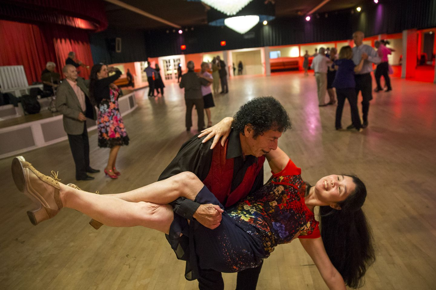 A Long Dance Winding To A Close At Legendary Ballroom The