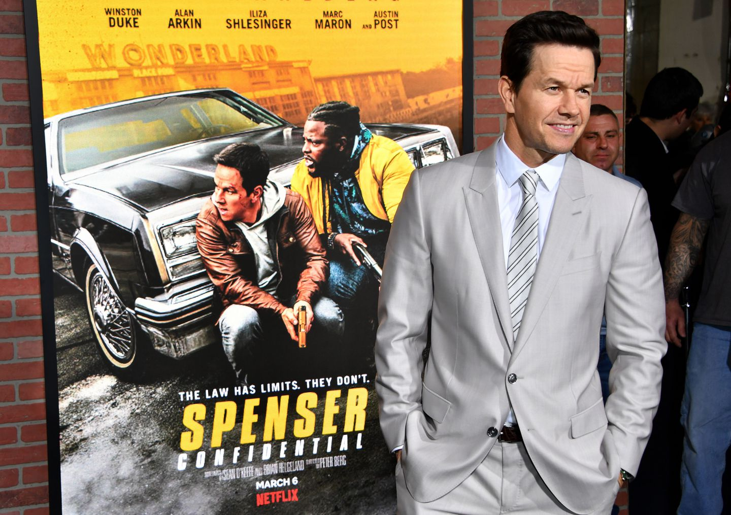 Mark Wahlberg Is All Business In Wahl Street The Boston Globe