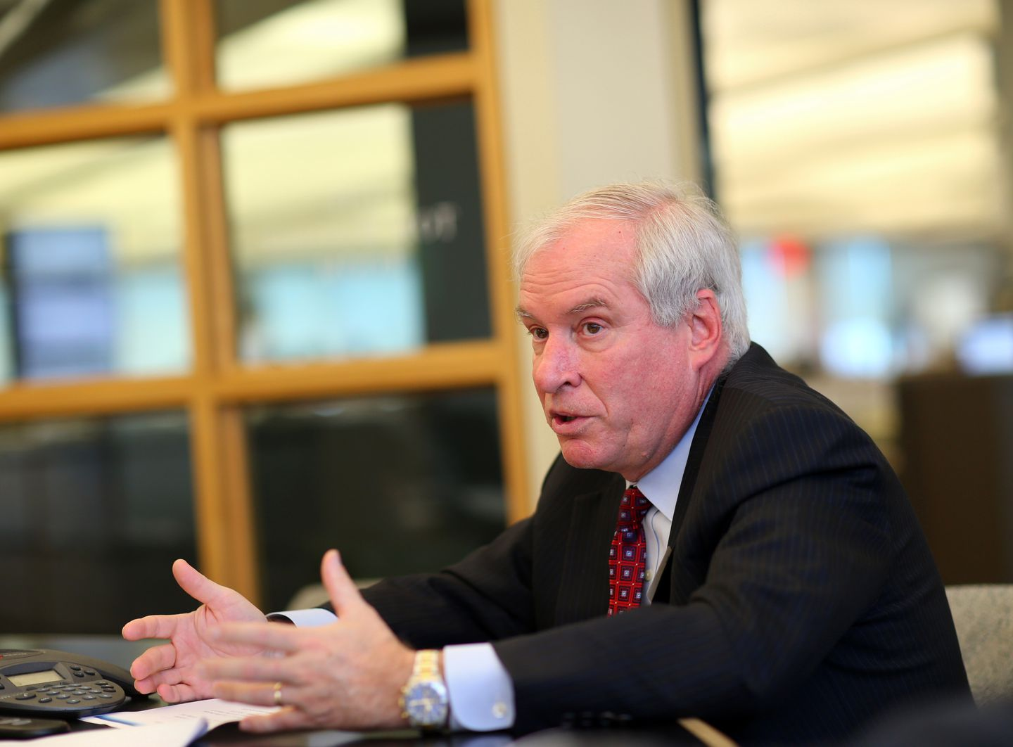 Eric S. Rosengren heads the Federal Reserve Bank of Boston.