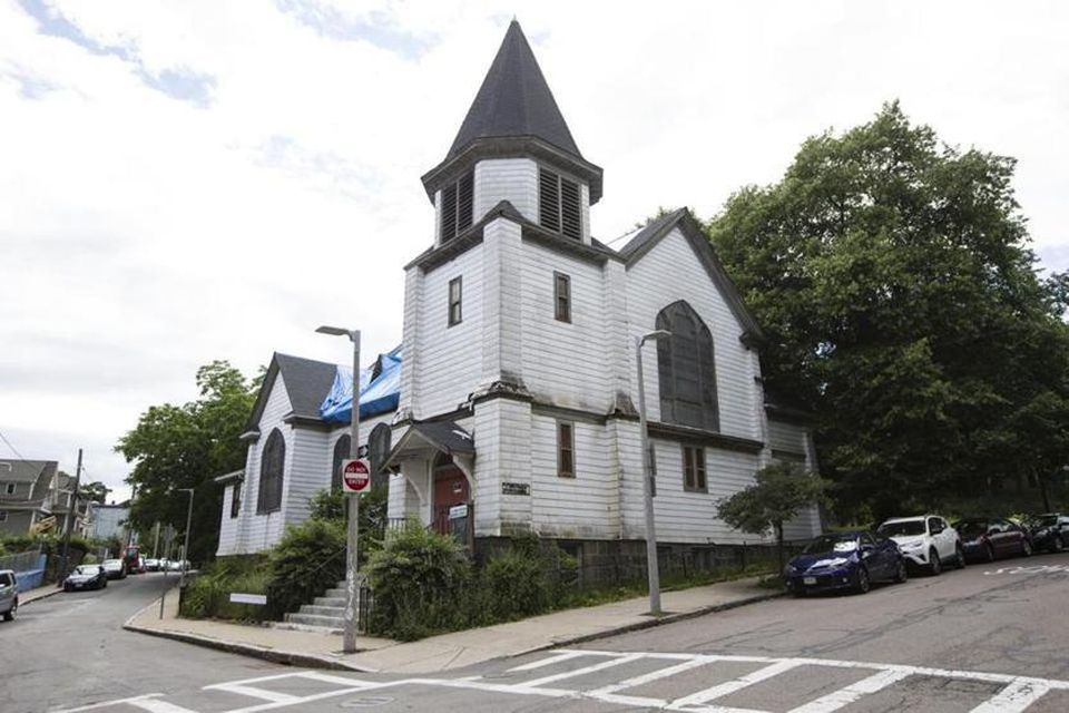 The former St. James African Orthodox Church