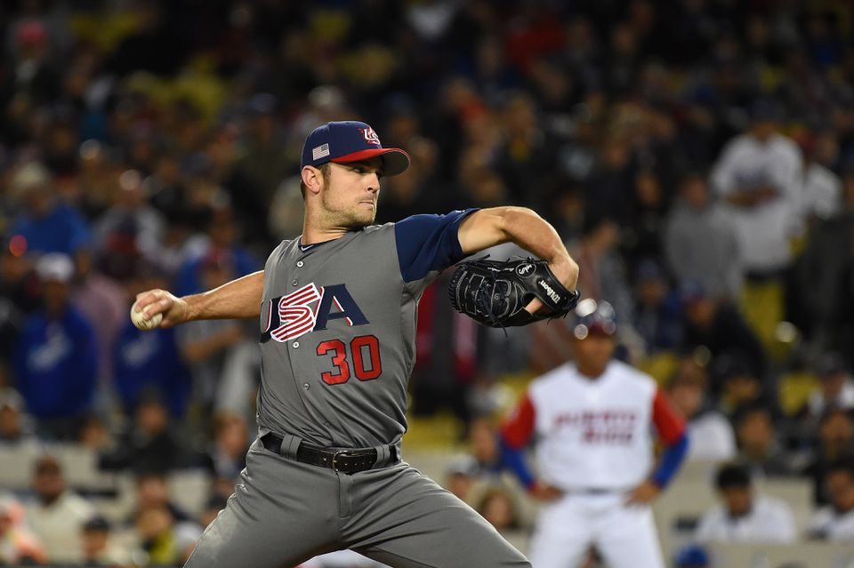 David Robertson of the White Sox closed out the United States' WBC championship win against Puerto Rico.