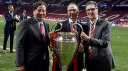 From left, Tom Werner, Mike Gordon, and John Henry, the three top owners of Fenway Sports Group.