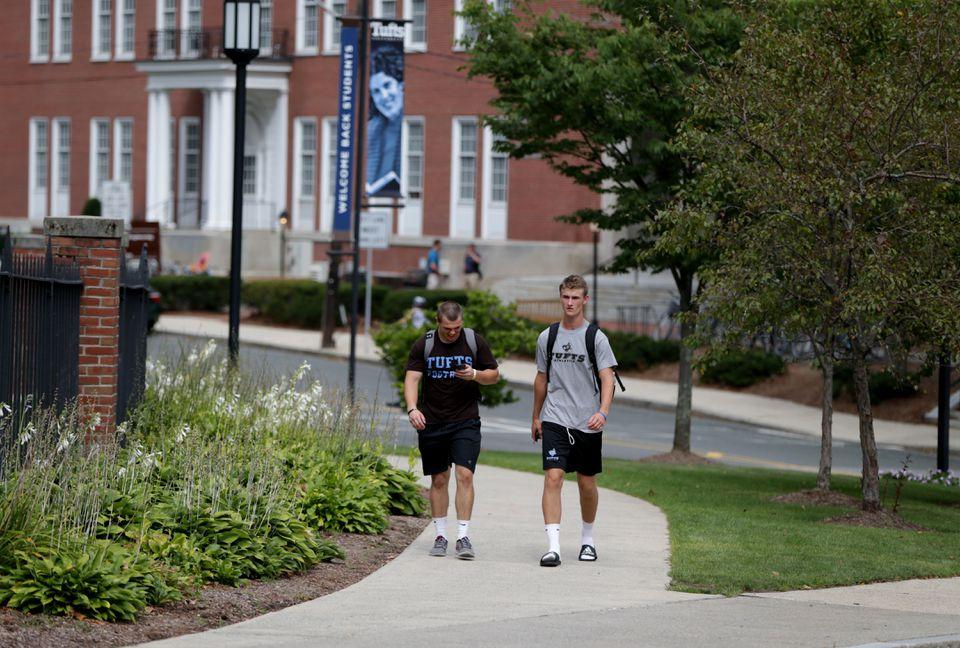 Tufts University in Medford.