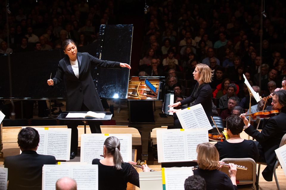 Shi-Yeon Sung led Ingrid Fliter and the BSO in Mendelssohn's Piano Concerto No. 1.