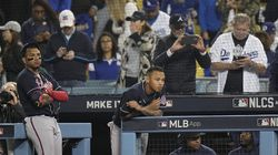 Atlanta watched as the Dodgers won NLCS Game 5 for the second straight year on Thursday night, cutting into its series deficit and sending the series back to Truist Park in Georgia.
