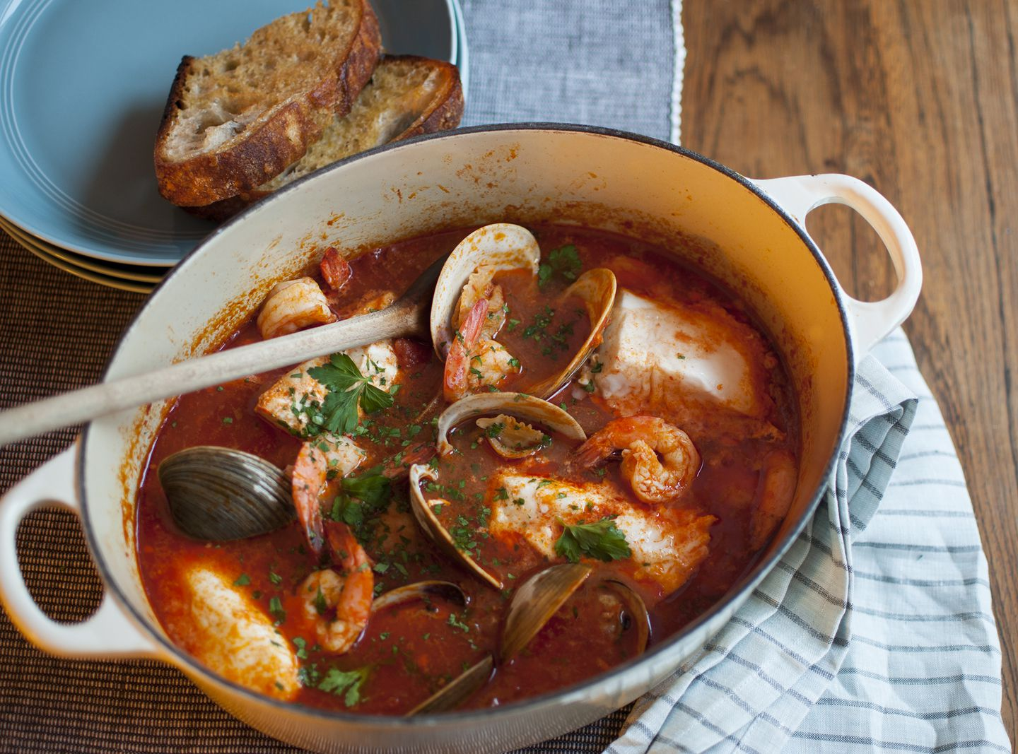 Recipe How To Cook Cioppino The Impressive Seafood Stew That S Secretly Not That Hard To Make The Boston Globe