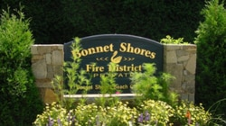 An image from the Bonnet Shores Fire District website