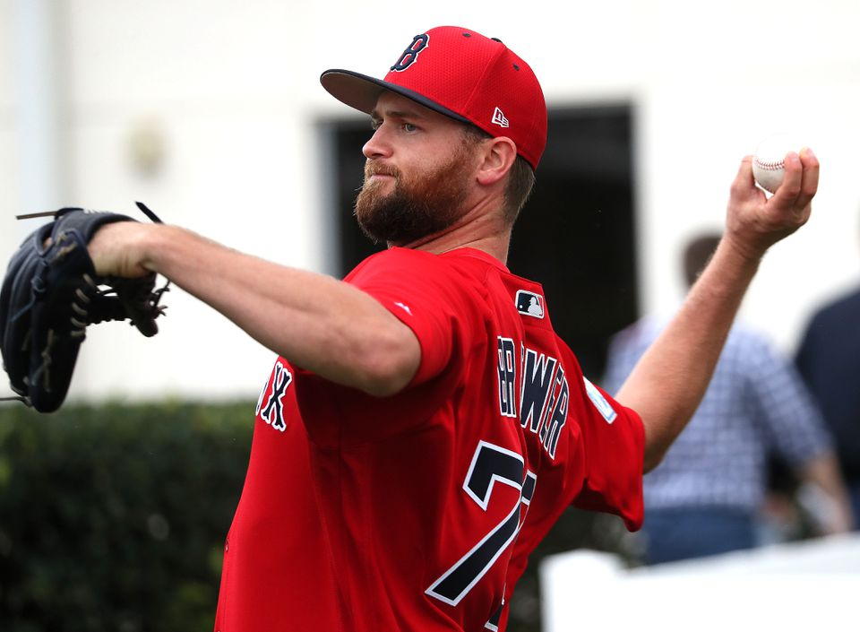 New Red Sox reliever Colten Brewer had a 5.59 ERA in 11 games for the Padres in 2018.