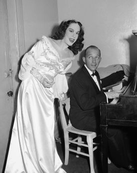 Bing Crosby accompanied Ms. Munsel backstage at the Metropolitan Opera House in 1945.